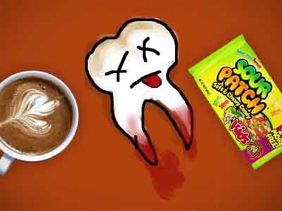 пострадавший зуб