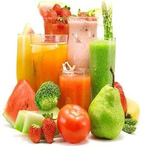овощи, фрукты, соки