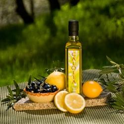 оливковое масло и лимоны