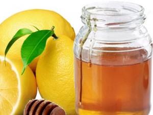 мед, лимон