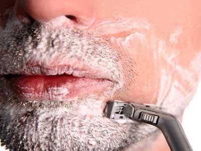 бритье лица