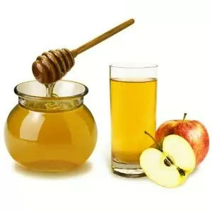 яблочный уксус и мед