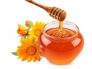 мед, календула