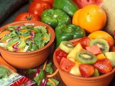 овощи и фрукты, богатые железом