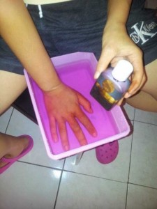 обработка кожи рук