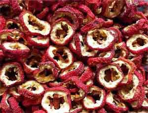 сушеные плоды боярышника
