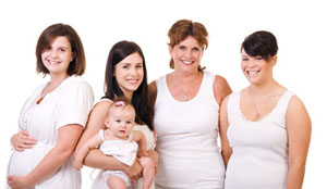 беременные, мама с малышом