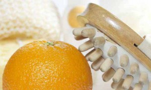 Апельсин, щетка