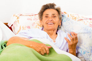 пожилая больная