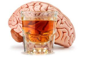 стакан, мозг