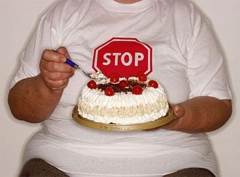 торт, ожирение