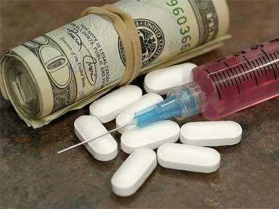 наркомания, шприц, деньги