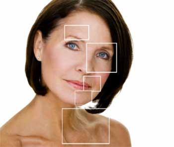 старение кожи, образование морщин у женщины