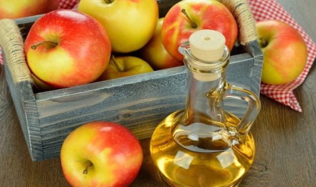 уксус, яблоки