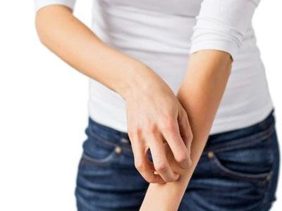 зуд кожи рук