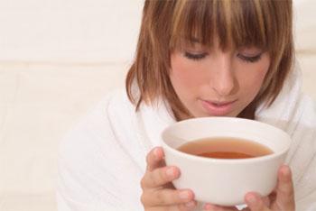 теплое питье