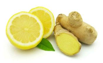 лимон имбирь