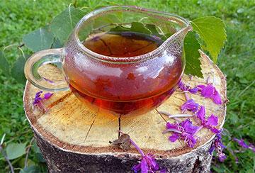 чай в заварнике
