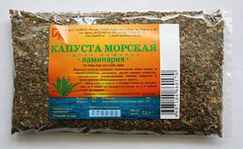 аптечный препарат ламинарии сушеной
