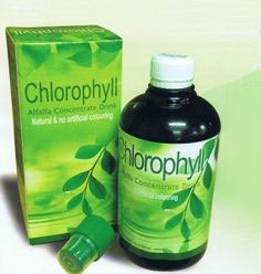 БАД - хлорофилл