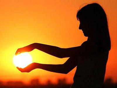фото с солнцем