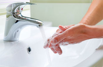 мытье руук