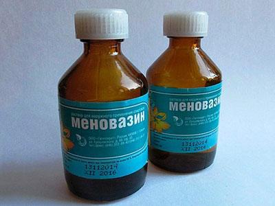 меновазин во флаконах