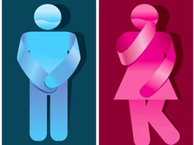 фигурки мужчины и женщины