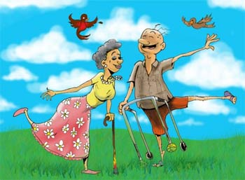 активные старики