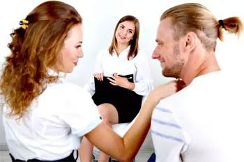 на консультации у психолога-сексолога
