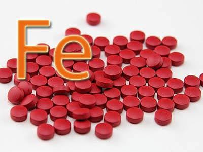 железо в таблетках