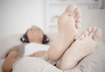 отдых, ноги