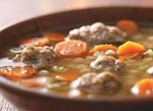 суп с фрикаделями