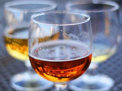 бокалы, алкоголь