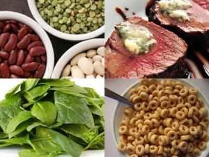 продукты для повышения уровня железа