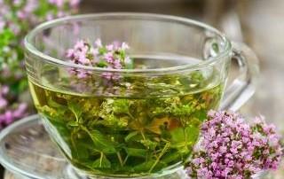 травяной чай с шалфеем
