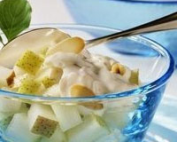 салат фруктовый со сметаной