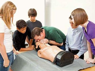обучение технике искусственного дыхания